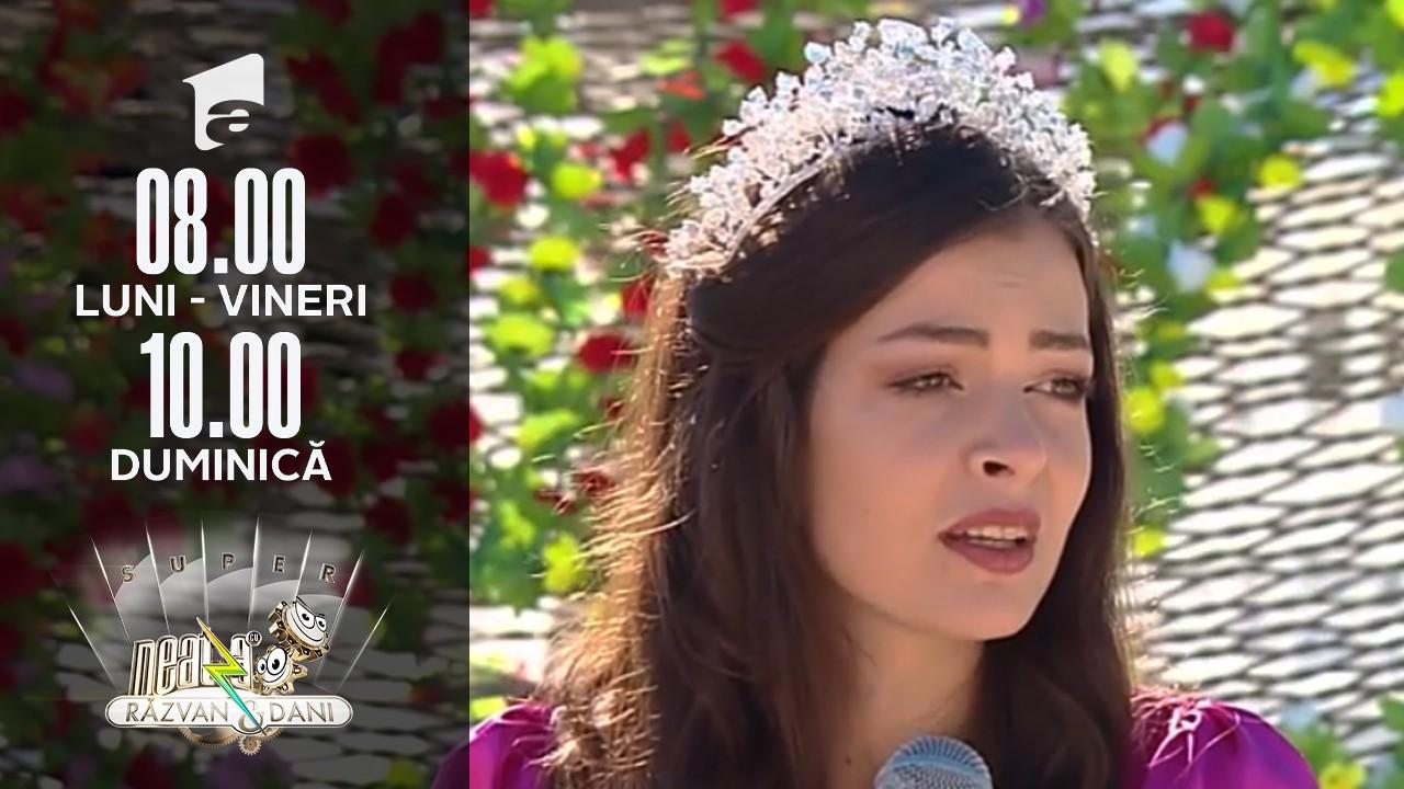 Super Neatza, 2 septembrie 2021. Miss Carmina Olimpia Cotfas, super apariție