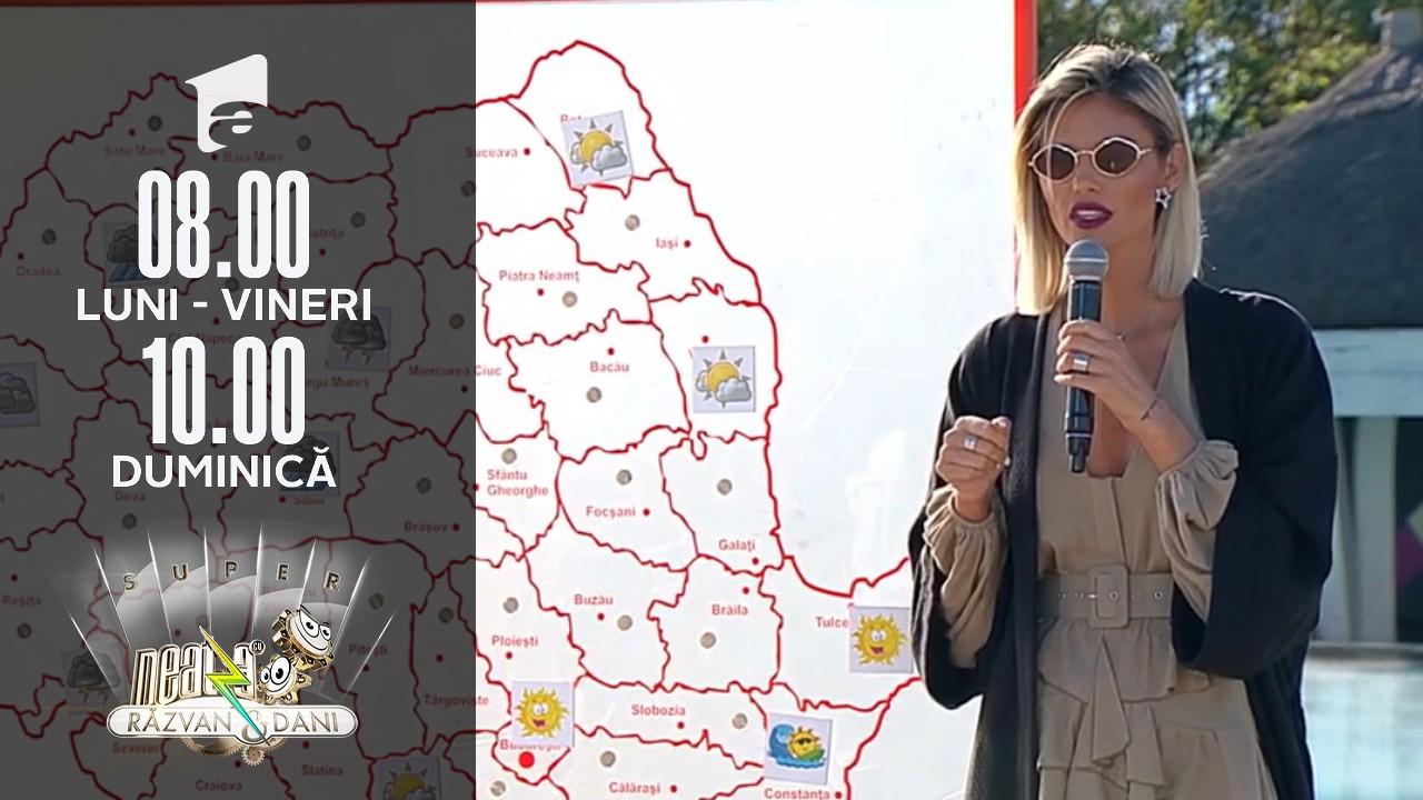 Super Neatza, 2 septembrie 2021. Prognoza meteo cu Ramona Olaru: Mai avem parte de soare pe litoral