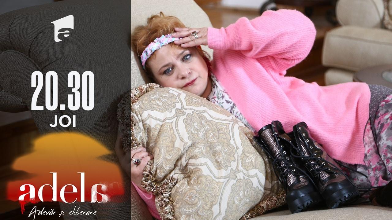 Adela sezonul 2, episodul 5, 2 septembrie 2021. Nuți vrea să fie șefă în casa Andronic! În visele ei, toți cântă și dansează după cum zice ea