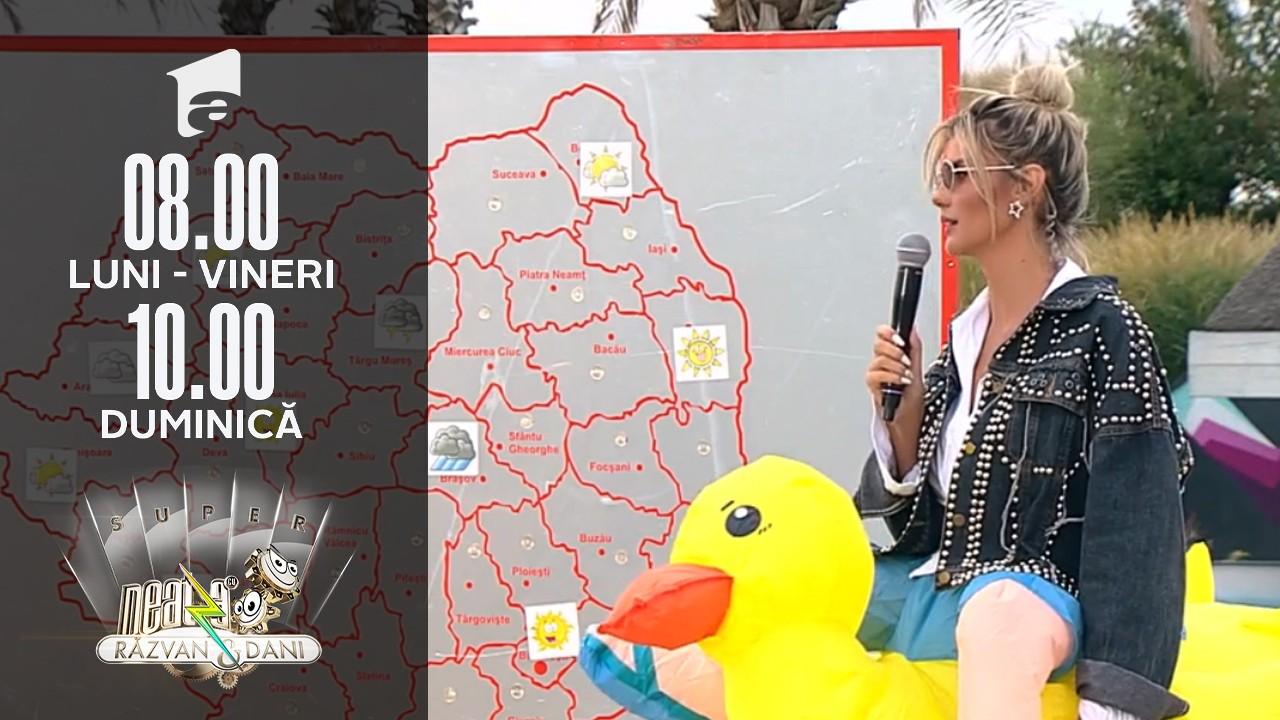 Super Neatza, 3 septembrie 2021. Prognoza meteo cu Ramona Olaru: Vreme rece și mohorâtă