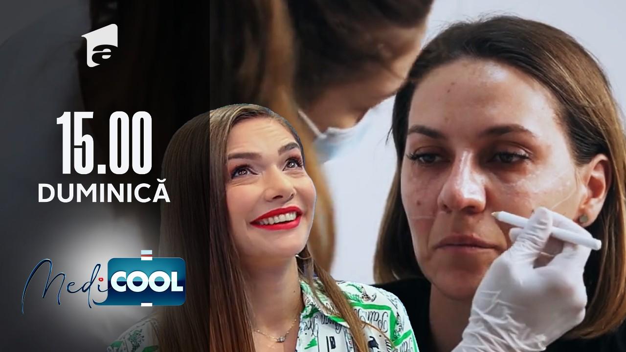 Medicool sezonul 1, 5 septembrie 2021. Botoxul împiedică anumiți mușchi să se contracte, rezultând o piele fără riduri