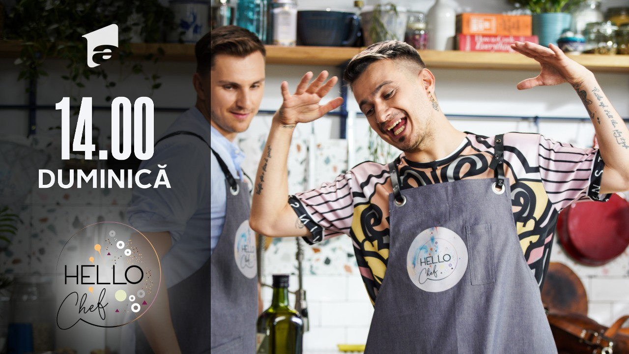 Hello Chef sezonul 2, 5 septembrie 2021. Roxana Blenche, Keed și Cristian Boca pregătesc chifteluțe de cartofi