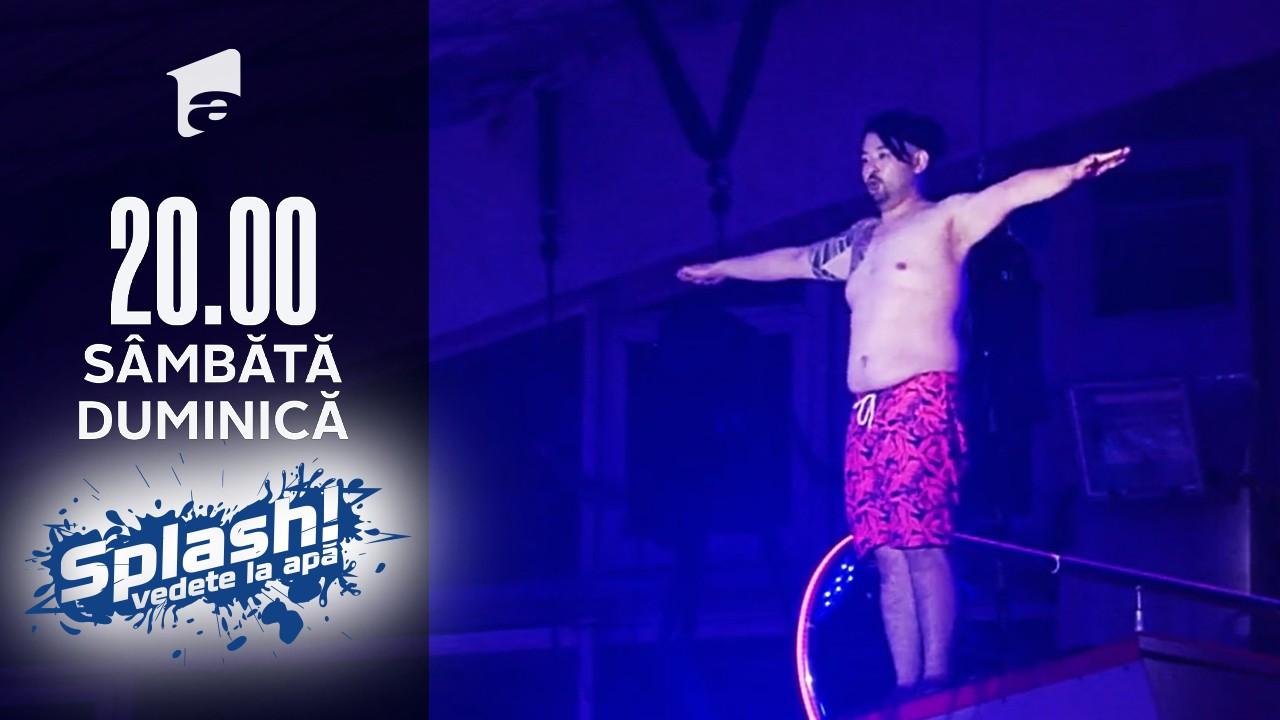 Splash! Vedete la apă, 5 septembrie 2021. Rikito Watanabe face spectacol cu săritura lui de la zece metri
