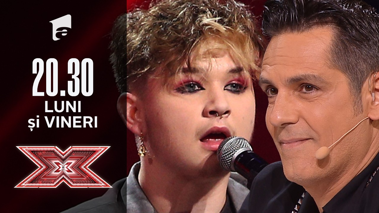 X Factor sezonul 10, 6 septembrie 2021. Ionuț Hanțig - Proud Mary