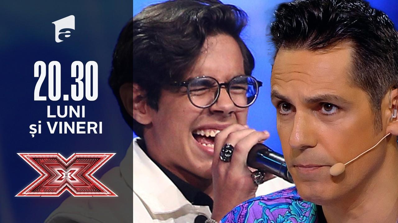 X Factor sezonul 10, 6 septembrie 2021. Luca Udățeanu - N-am timp