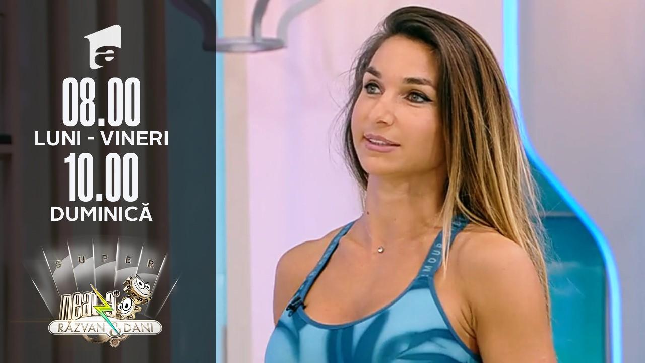 Super Neatza, 7 septembrie 2021. Diana Stejereanu, antrenament full body cu ganterele