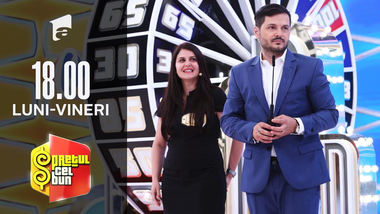 Preţul cel bun sezonul 1, 7 septembrie 2021: Elena Năstase a pierdut un super premiu