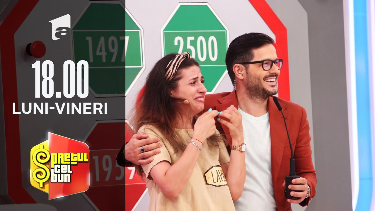 Preţul cel bun sezonul 1, 9 septembrie 2021: Lavinia Chițu a câștigat un super televizor