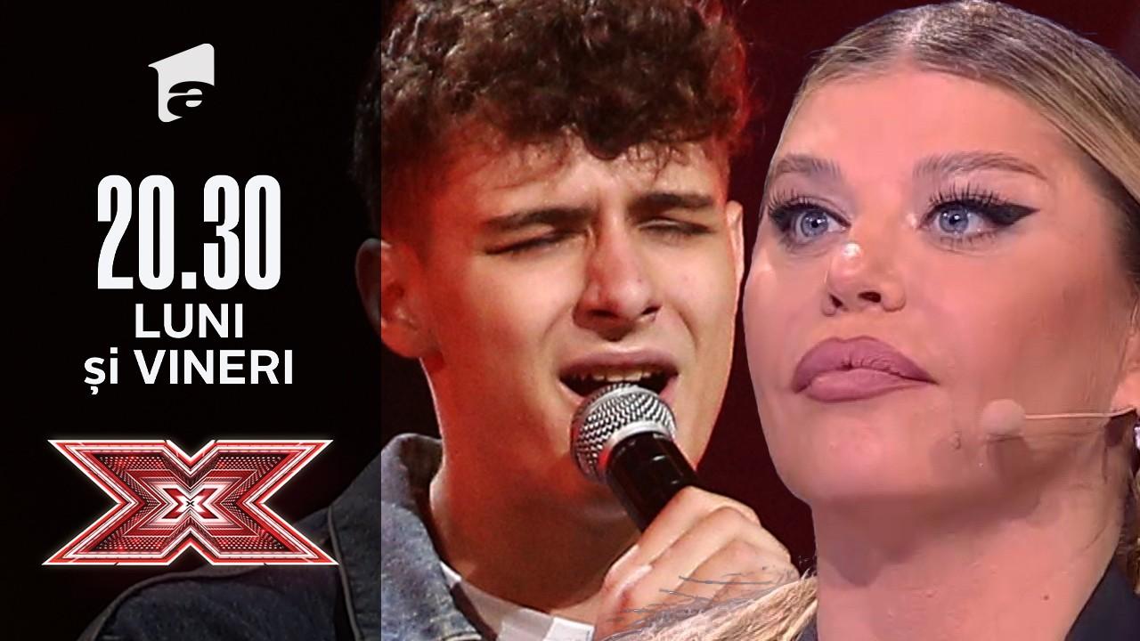"X Factor sezonul 10, 10 septembrie 2021. Yarin Andrei Lupu - ""Broken Bones"""