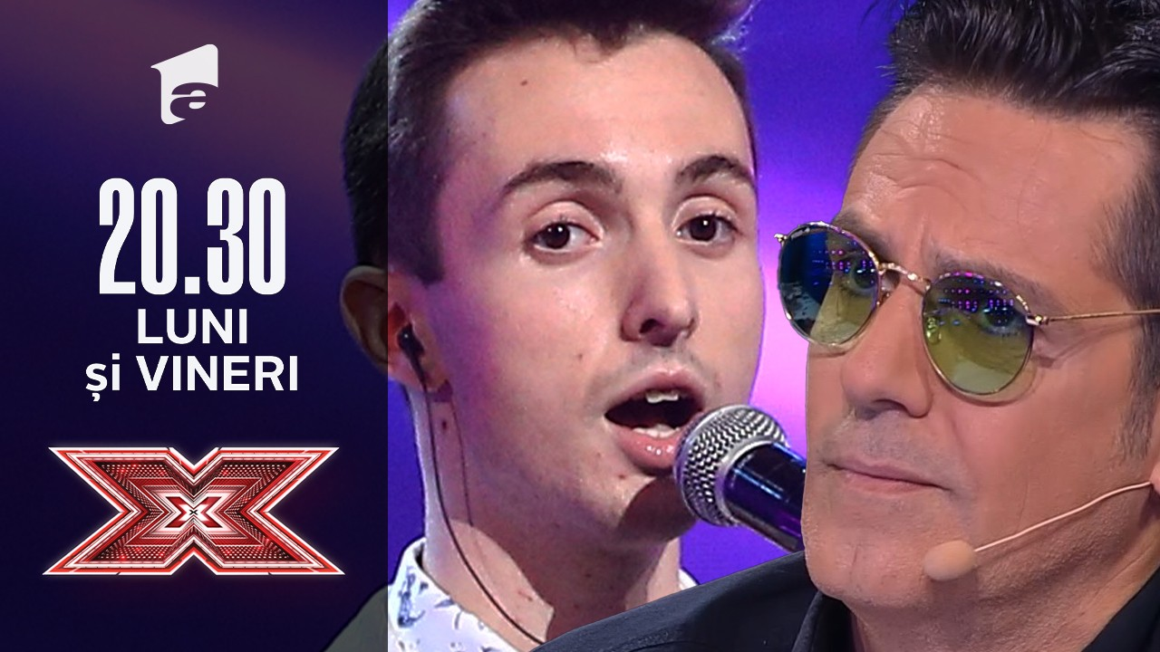 """X Factor sezonul 10, 10 septembrie 2021. Claudiu Chichirau - """"You Are The Reason"""""""