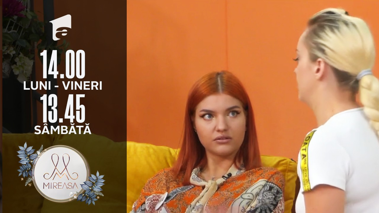 Mireasa Sezonul 4, 10 septembrie 2021. Andrada și doamna Gabi își spun cuvinte tendențioase