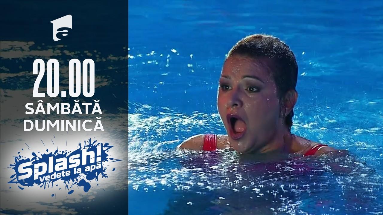 Splash! Vedete la apă, 11 septembrie 2021. Maria Buză, săritură de la 3 metri: Lumea de sus, de la platforma se vede foarte rău!