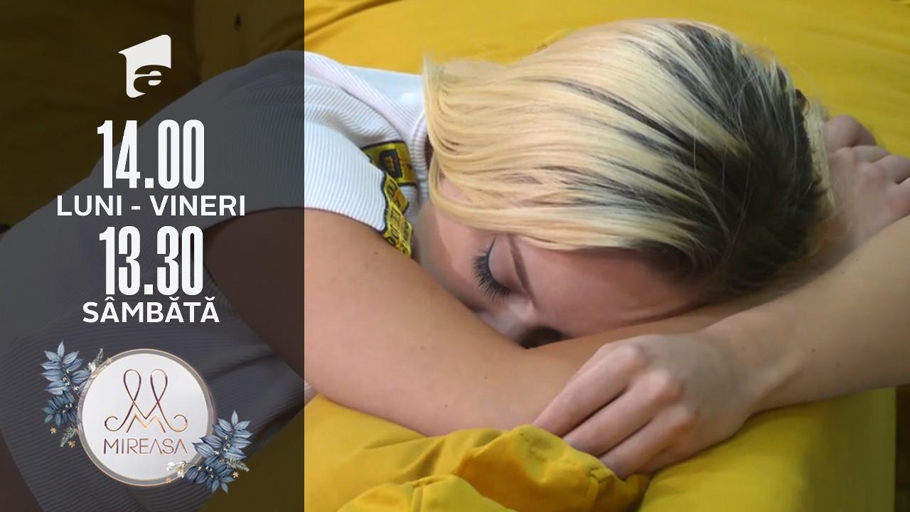 Gala Mireasa sezonul 4, 11 septembrie 2021. Doamna Eugenia, un nou atac la Raluca: Vezi că nu te apară genele false!
