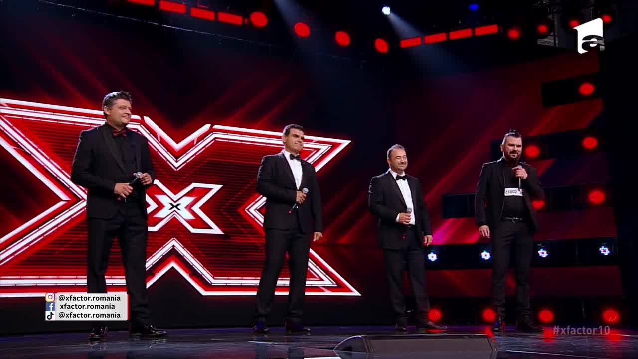 X Factor sezonul 10, 13 septembrie 2021. Jurizare trupa Quartet Belcanto