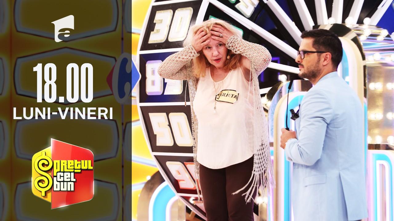Preţul cel bun sezonul 1, 13 septembrie 2021. Julieta a pierdut premiul cel mare: O vacanță în Egipt