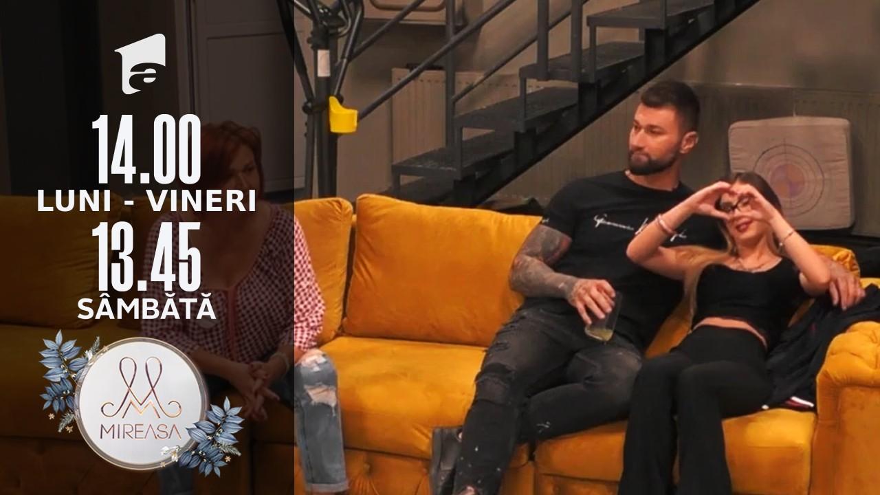 Mireasa Sezonul 4, 13 septembrie 2021. Adelina, despre intențiile lui Marius: Nu am încredere în tine!