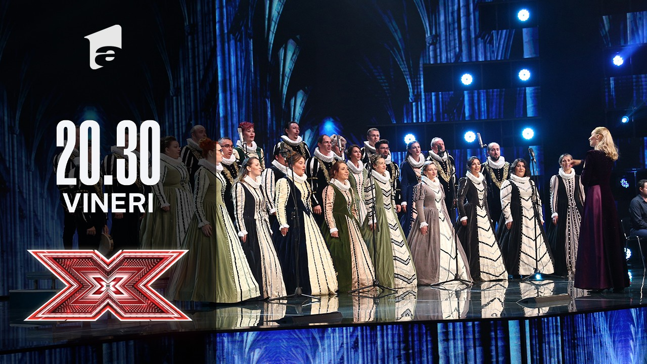 X Factor sezonul 10, 13 septembrie 2021: Corul Naţional de Cameră Madrigal: Abba - Thank you for the music