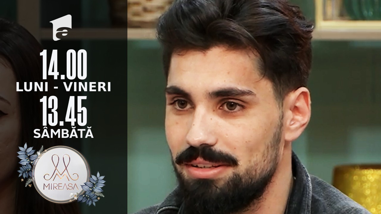 Mireasa Sezonul 4, 13 septembrie 2021. Alina vrea o relație cu Alexandru?!