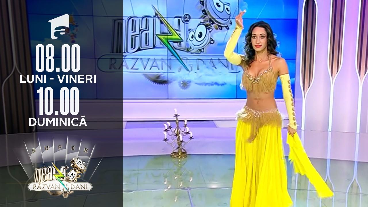 Super Neatza, 14 septembrie 2021. Natalia Duminică, regina dansului oriental, a făcut show în platoul matinalului