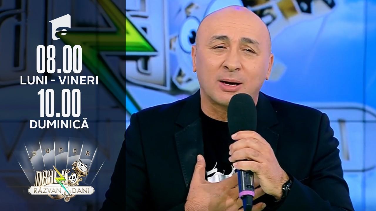 """Super Neatza, 14 septembrie 2021. Premieră! Marcel Pavel - """"Zâna mea frumoasă"""""""