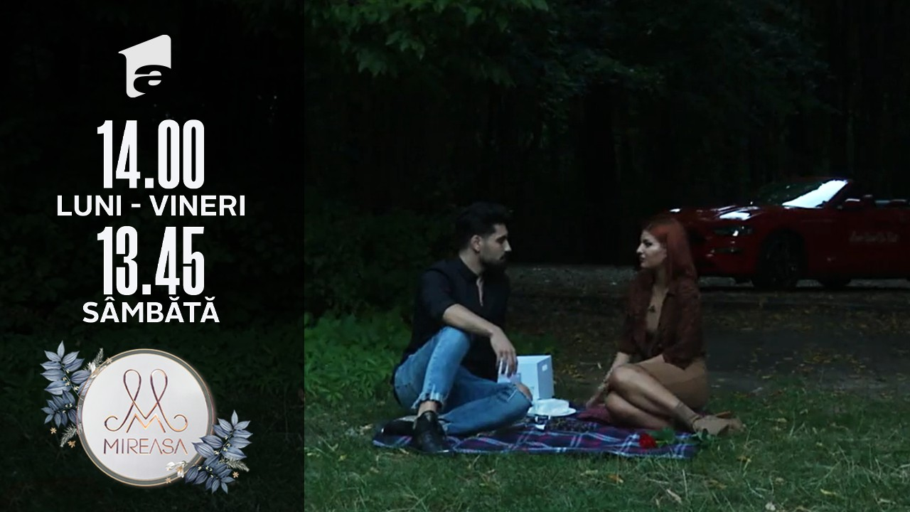 Mireasa Sezonul 4, 16 septembrie 2021. Cum a decurs întâlnirea dintre Ana și Alexandru