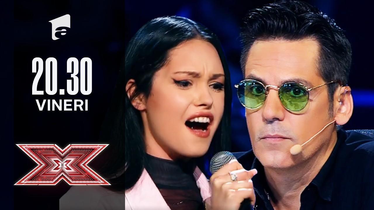 X Factor sezonul 10, 17 septembrie 2021: Amanda Aprotosoaei: Michael Jackson - Billie Jean