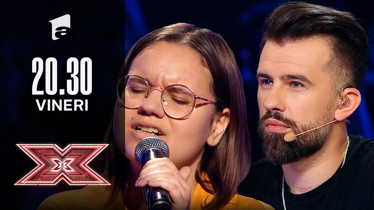 X Factor sezonul 10, 17 septembrie 2021: Giorgiana Nuțu: Ruth B. - Superficial Love