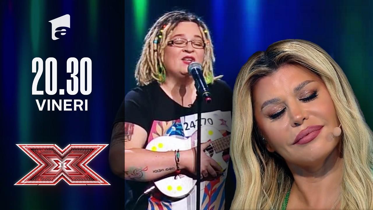 X Factor sezonul 10, 17 septembrie 2021: Nora Denes: Rihanna - Man Down