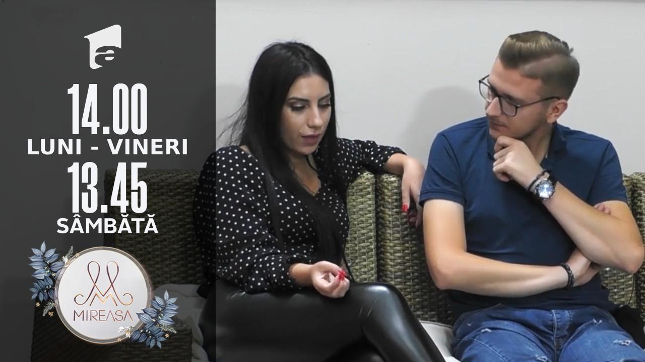 Mireasa Sezonul 4, 17 septembrie 2021. Ela și Petrică, o viziune comună despre iubire?