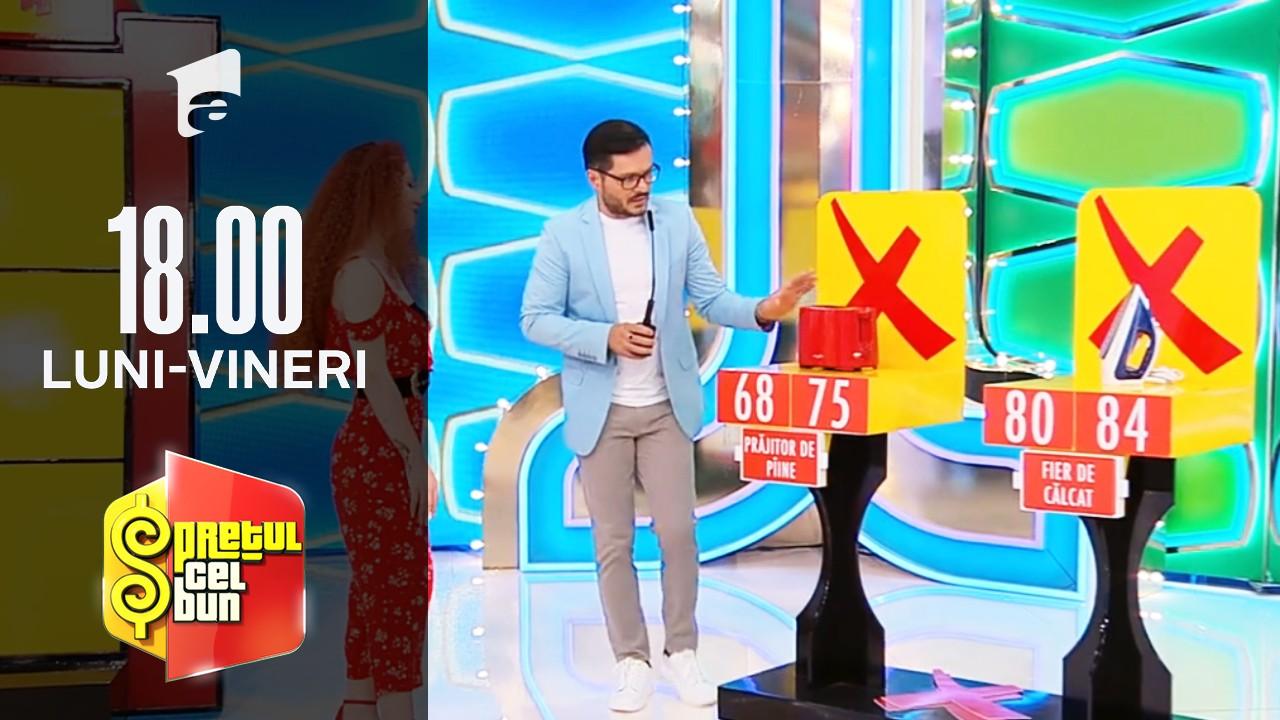 Preţul cel bun sezonul 1, 17 septembrie 2021. Liviu Vârciu și Andrei Ștefănescu joacă X și Zero
