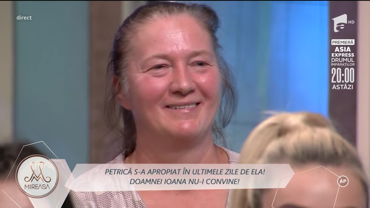 Gala Mireasa sezonul 4, 18 septembrie 2021. De ce mama lui Petrică nu vrea ca fiul ei să o cunoască pe Ela