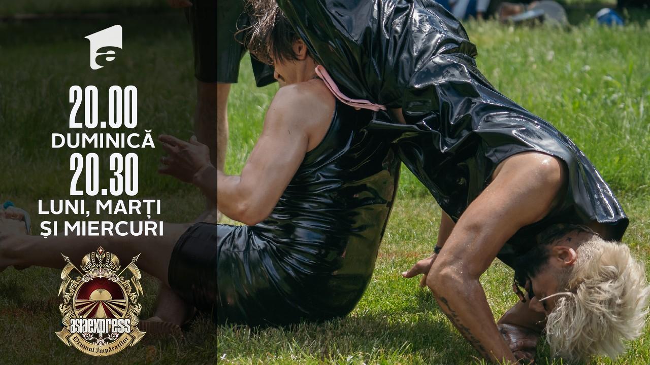 Asia Express sezonul 4, 18 septembrie 2021. Lupta de wrestling dintre Connect-R și Mihai Petre. S-a lăsat cu accidentări