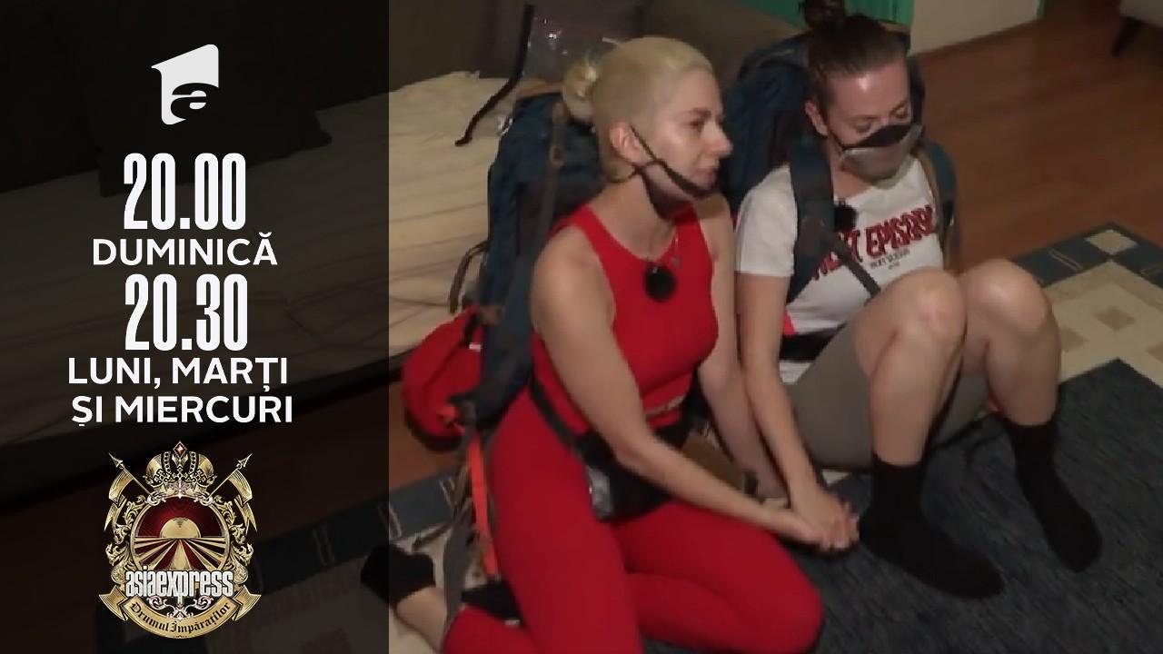 Asia Express sezonul 4, 18 septembrie 2021. Estera, în lacrimi! De ce a plâns sora Lidiei Buble când a găsit un loc de cazare