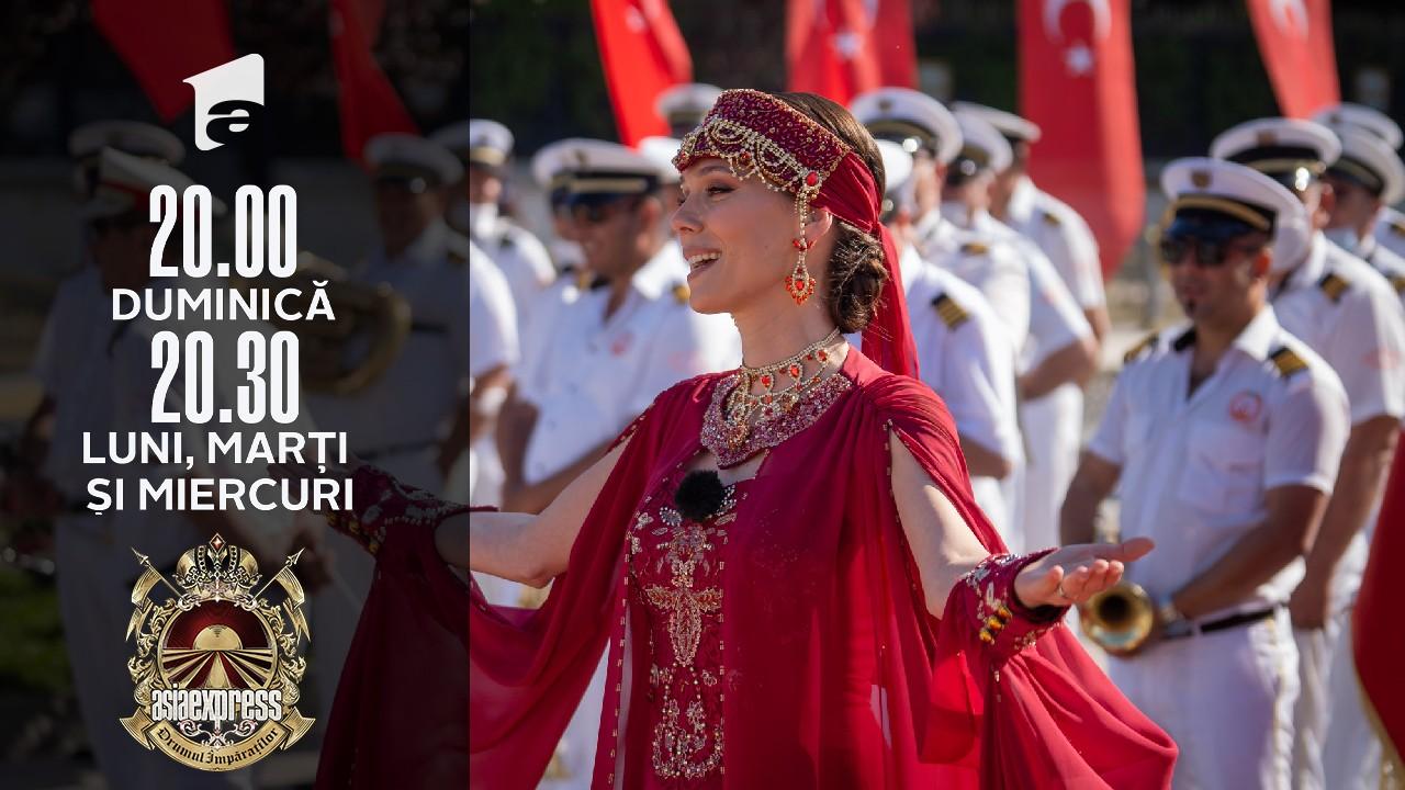 Asia Express sezonul 4, 18 septembrie 2021. Irina Fodor apariție spectaculoasă: M-am îmbrăcat în prințesă otomană!