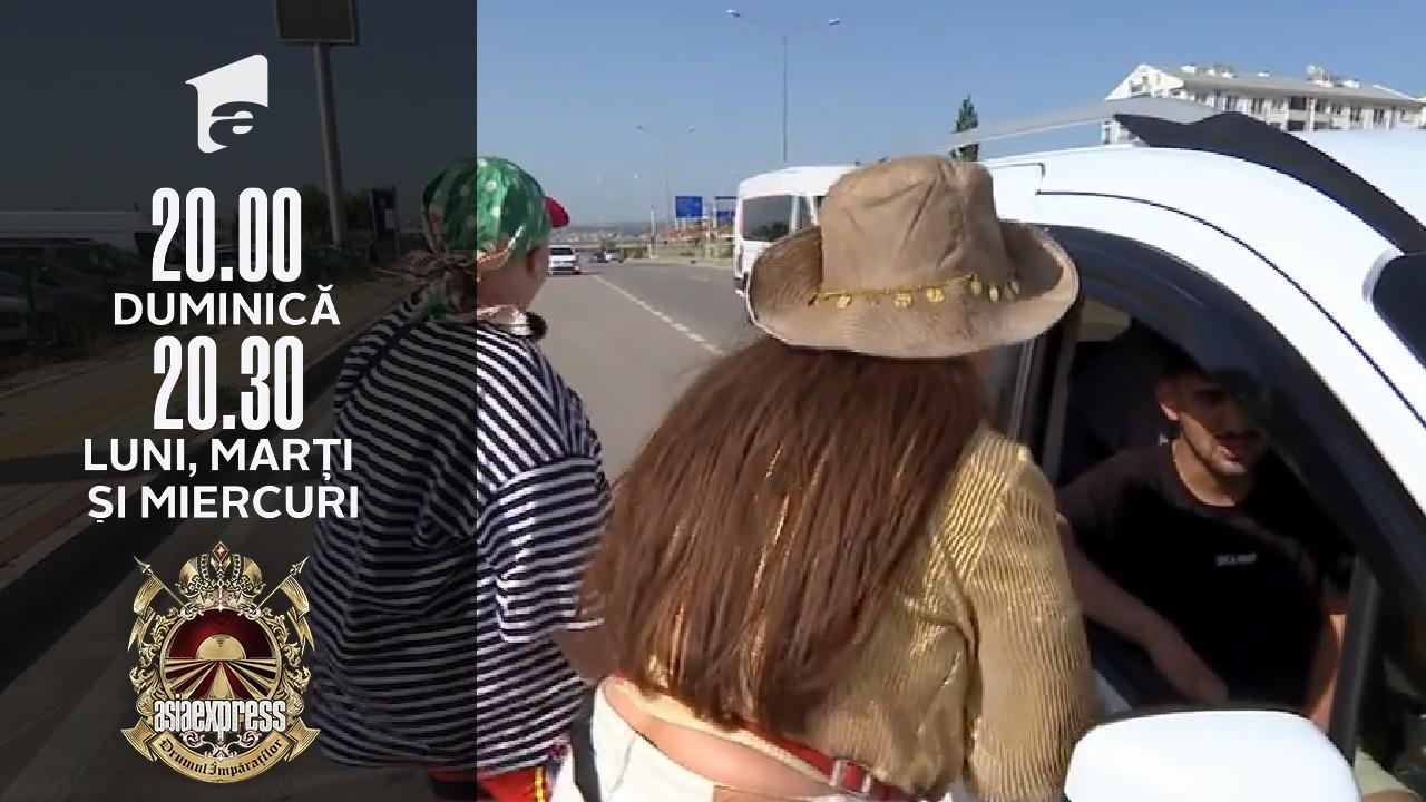 Asia Express sezonul 4, 19 septembrie 2021. Lidia Buble, hotărâtă să le fure mașina echipei Lorelei - Zarug!