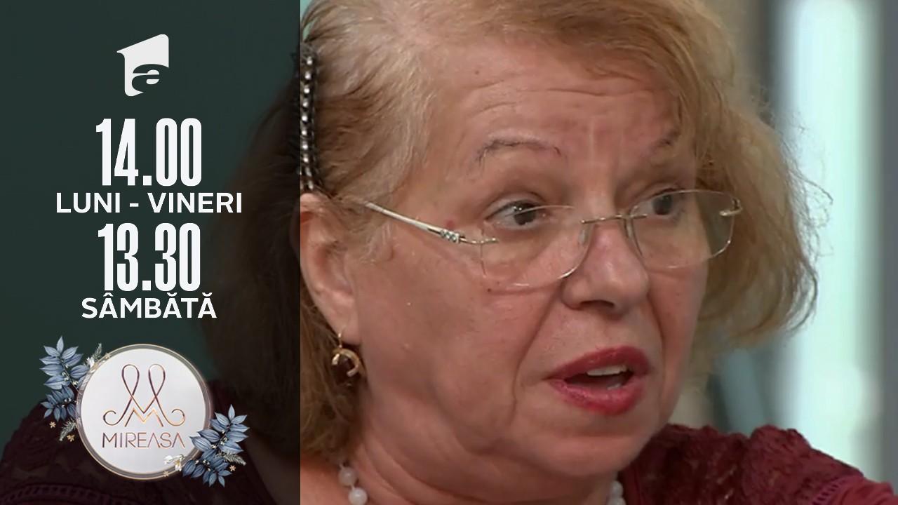 Mireasa Sezonul 4, 20 septembrie 2021. Scandal între doamnele Eugenia și Rodica: Vezi cu jignirile!
