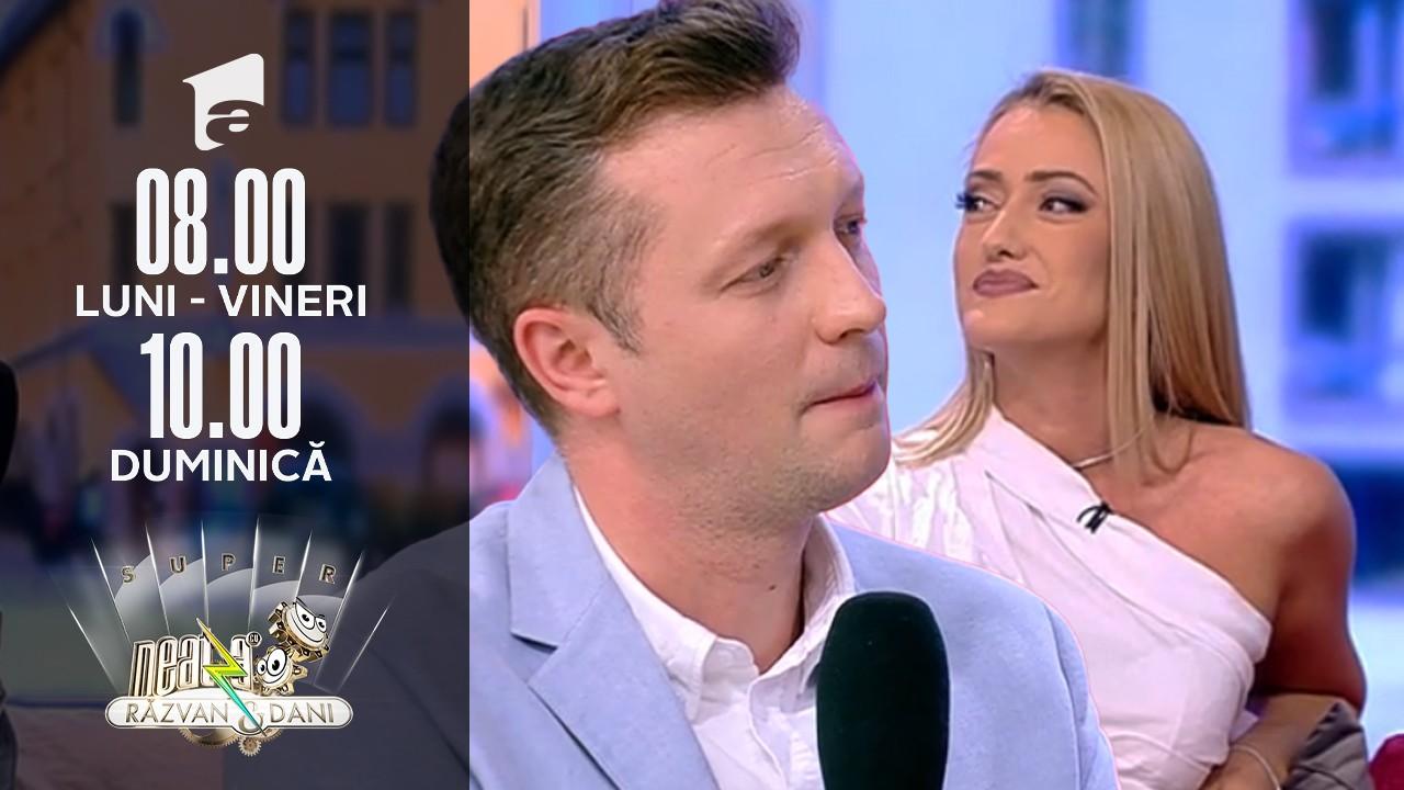 Super Neatza, 20 septembrie 2021. Iuliana Pepene și Bogdan Alecsandru, prezentatorii Observator 06, interviu de colecție: Băiatul meu a intrat la școală, sper să fie online!