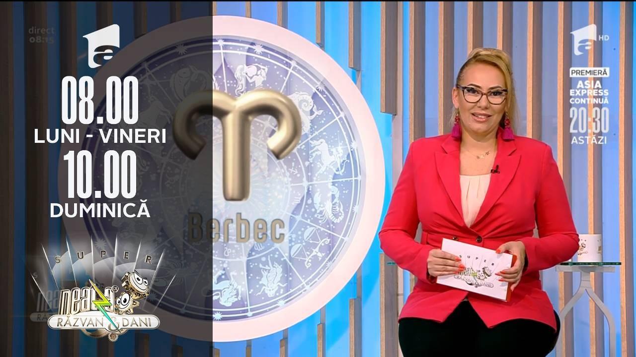 Super Neatza, 20 septembrie 2021. Horoscopul Zilei cu Bianca Nuțu: Berbecii au încredere în imaginația lor