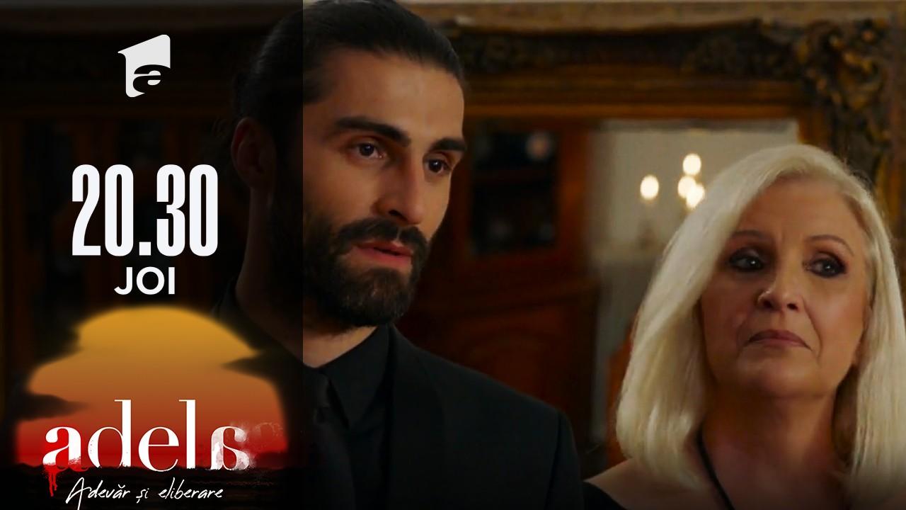 Adela sezonul 2, episodul 12, 23 septembrie 2021. Martha îi anunță pe toți că Lucian e nepotul ei