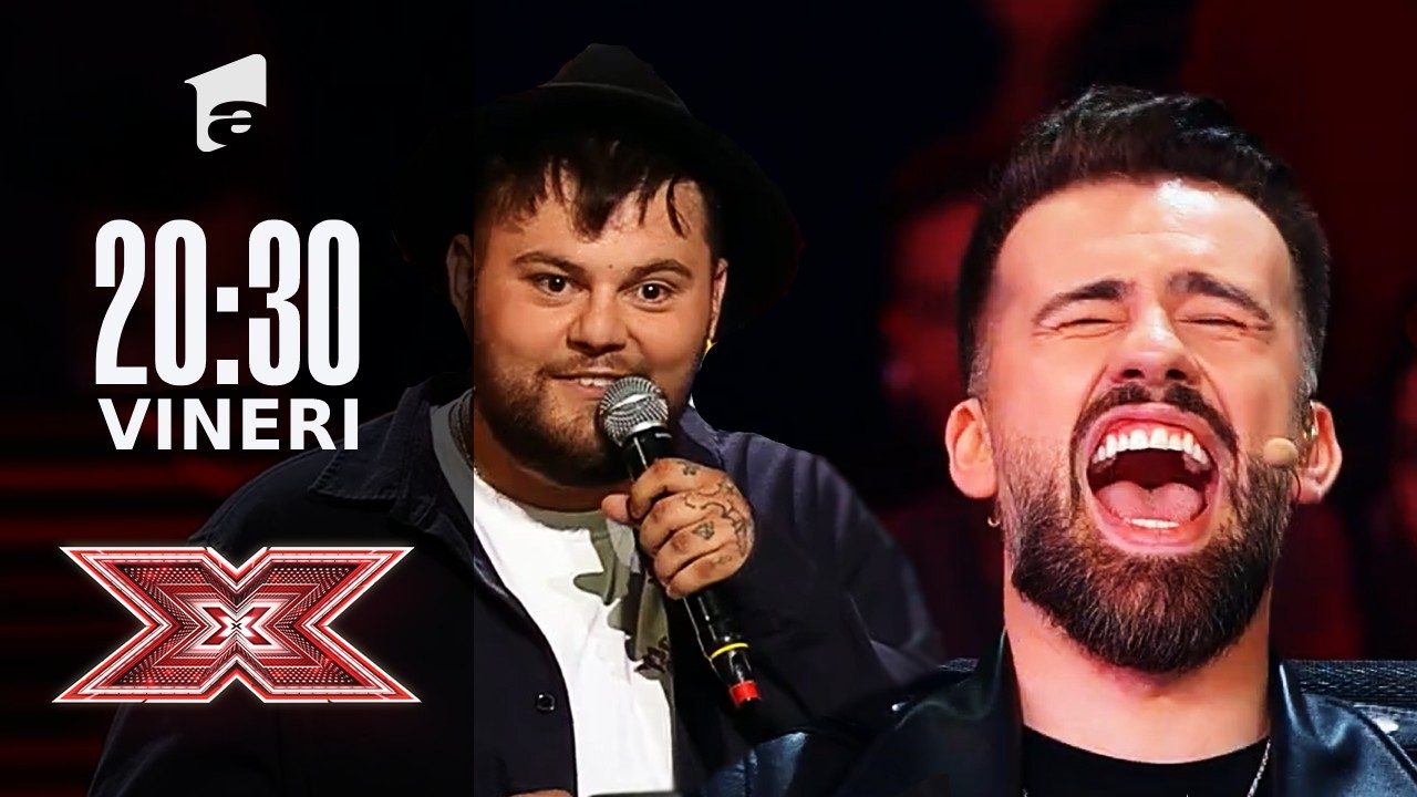 X Factor sezonul 10, 24 septembrie 2021. Bogdan Panaite Casper un moment de rap improvizat