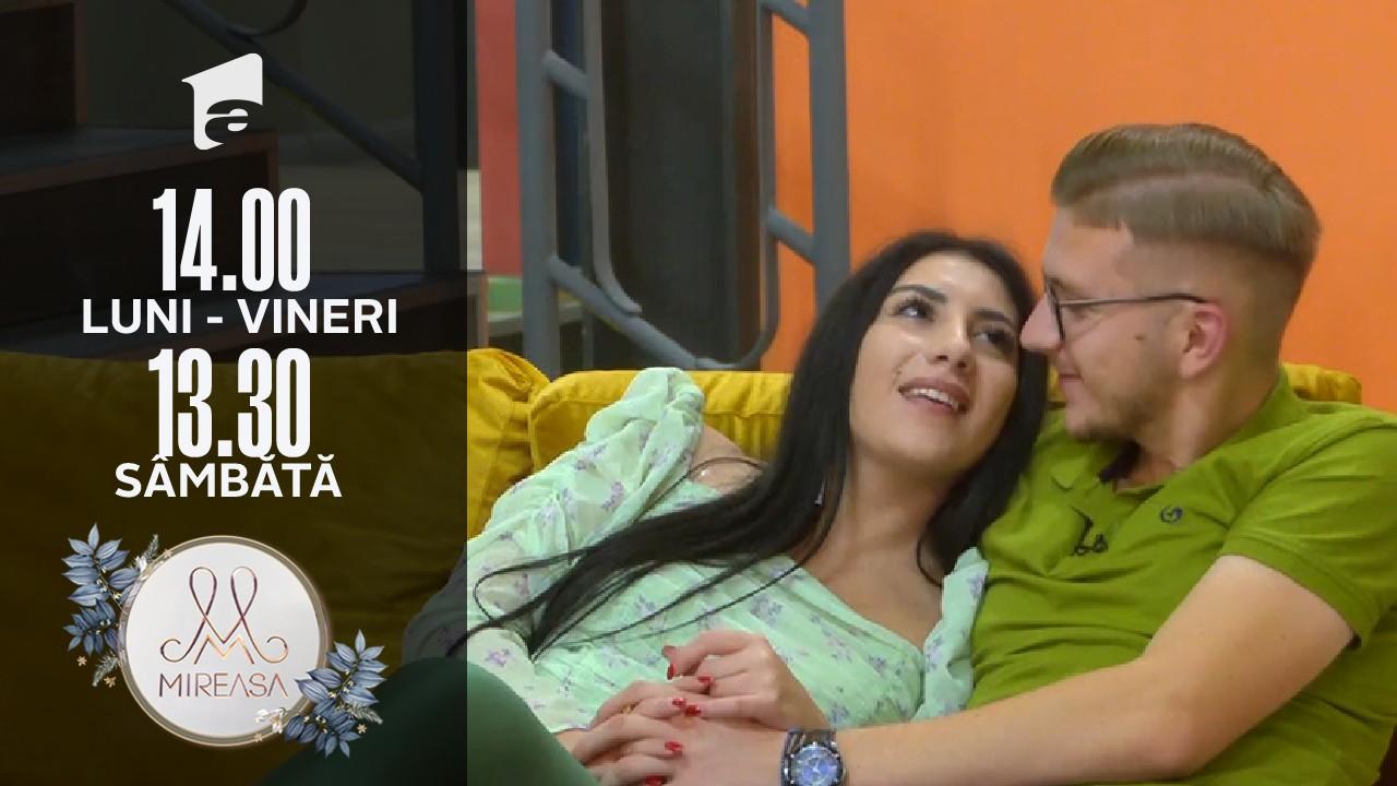 Mireasa Sezonul 4, 24 septembrie 2021. Ela îi face o farsă doamnei Ioana: Petrică mi-a dat inelul de logodnă!