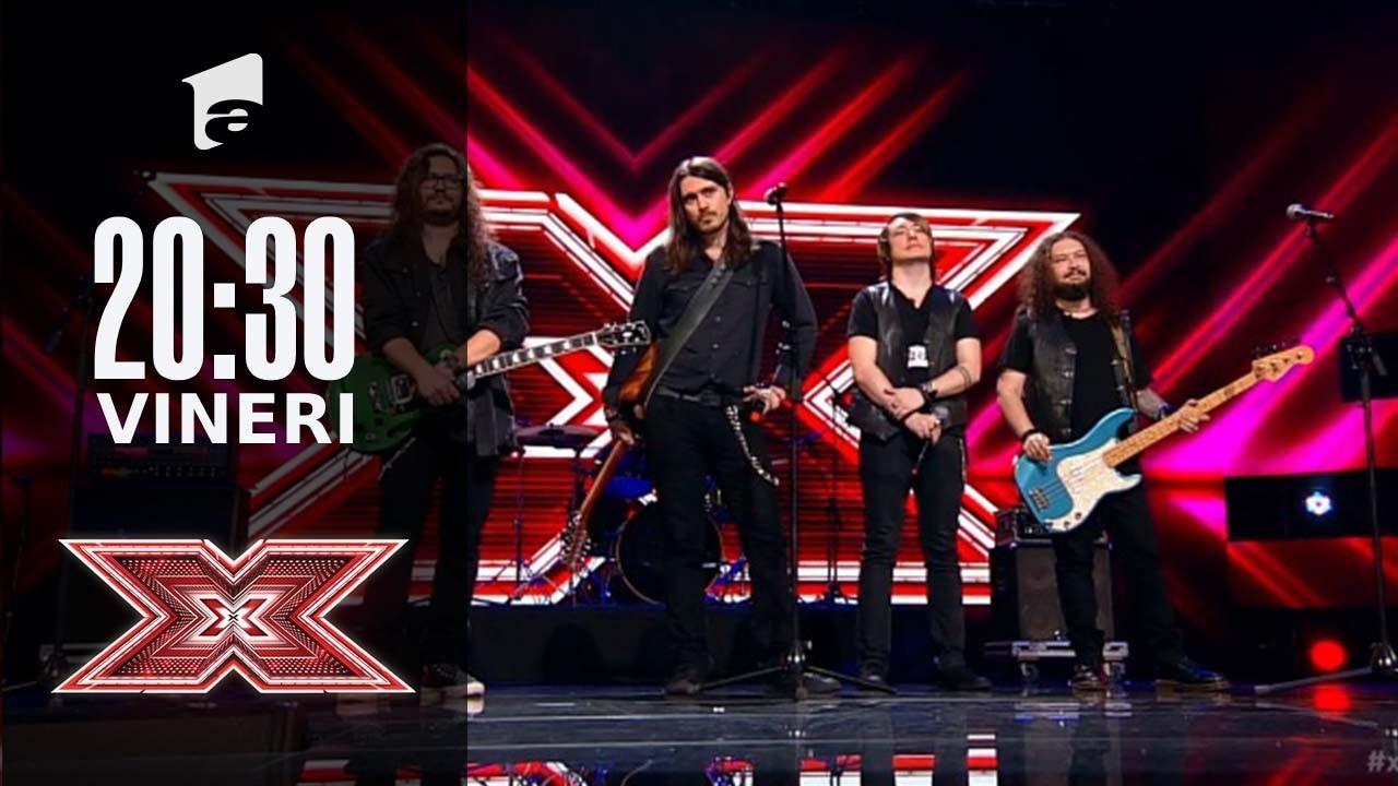 X Factor sezonul 10, 24 septembrie 2021. Secret Society - Bon Jovi - Wanted Dead Or Alive