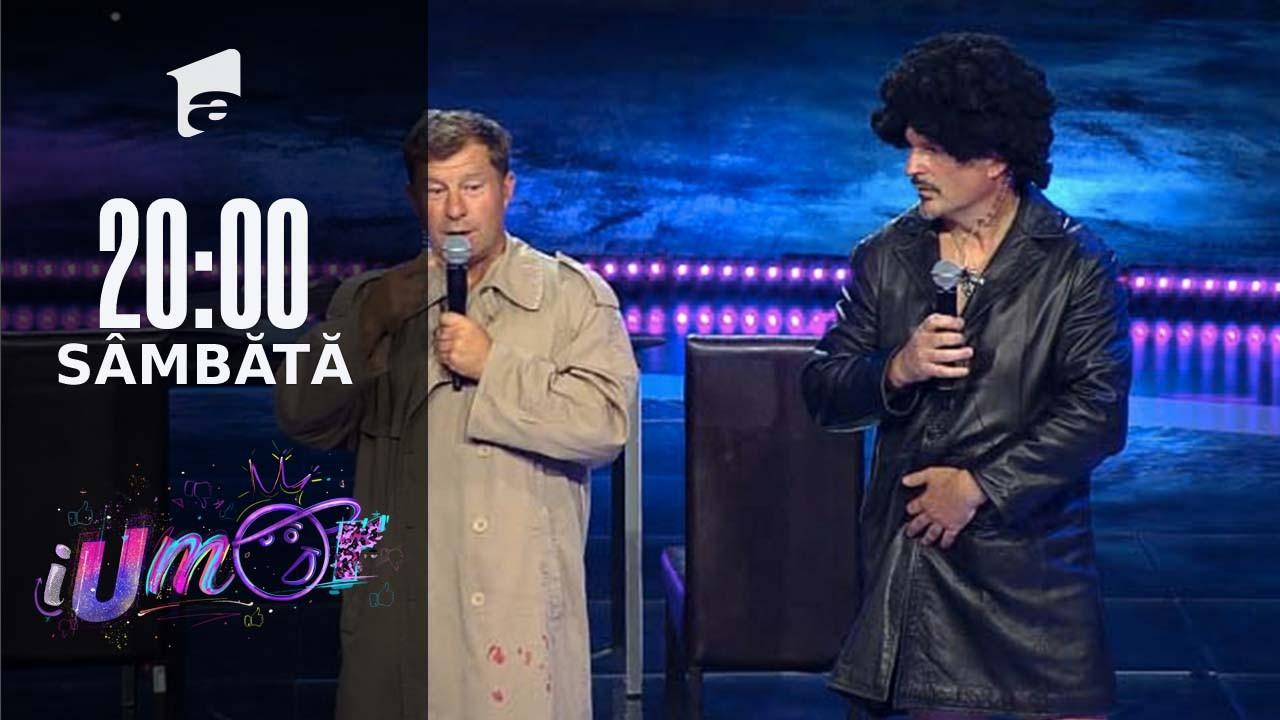iUmor Sezonul 11, 25 septembrie 2021. Jurizare - Fabio Biggi și Lorenzo Nardi