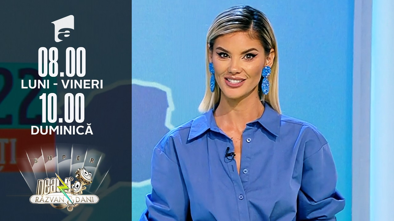 Super Neatza, 27 septembrie 2021. Prognoza Meteo cu Ramona Olaru: Se răcește accentuat în toată țara