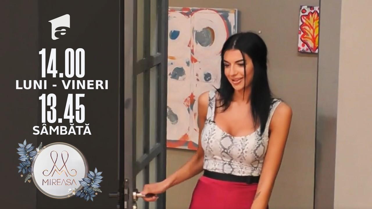 Mireasa Sezonul 4, 28 septembrie 2021. Amalia, invitată în casa băieților!