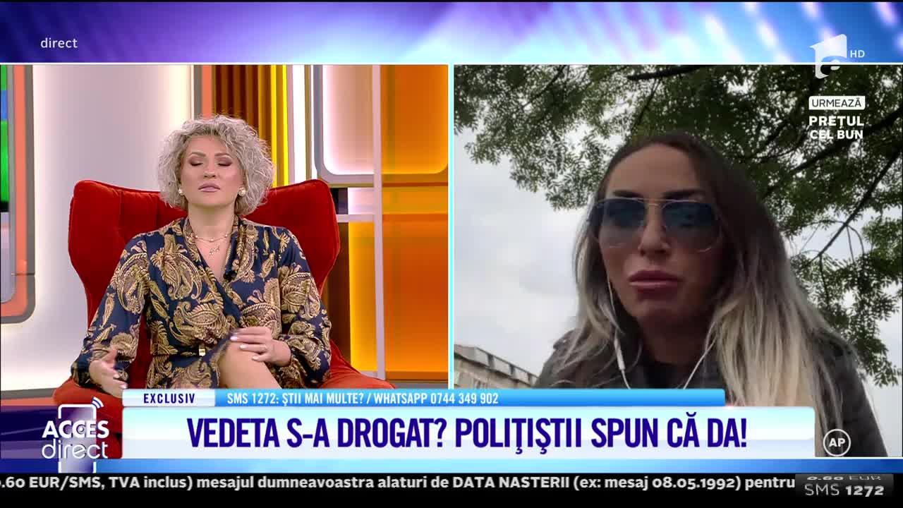 Acces Direct, 28 septembrie 2021. Andreea Pirui, prinsă drogată la volan. Vedeta acuză că totul ar fi o înscenare!