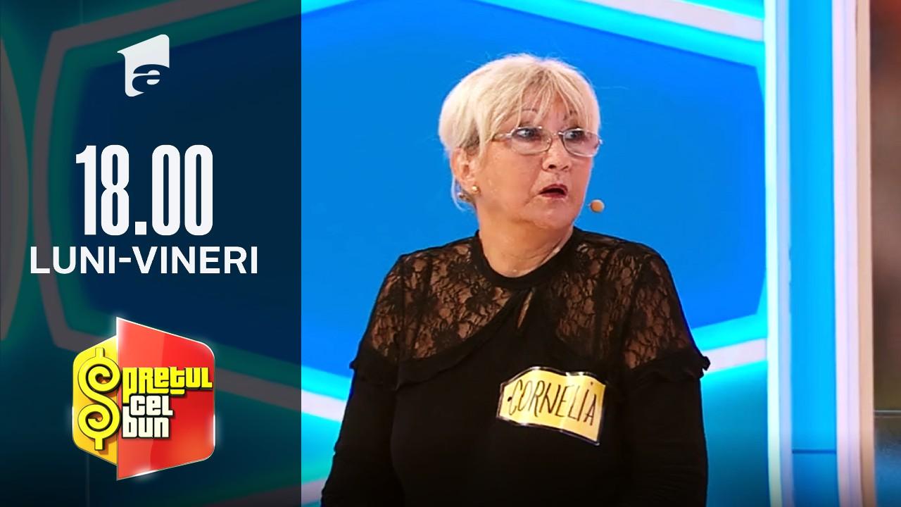 Preţul cel bun sezonul 1, 28 septembrie 2021. Cornelia a câștigat o vacanță în Antalya