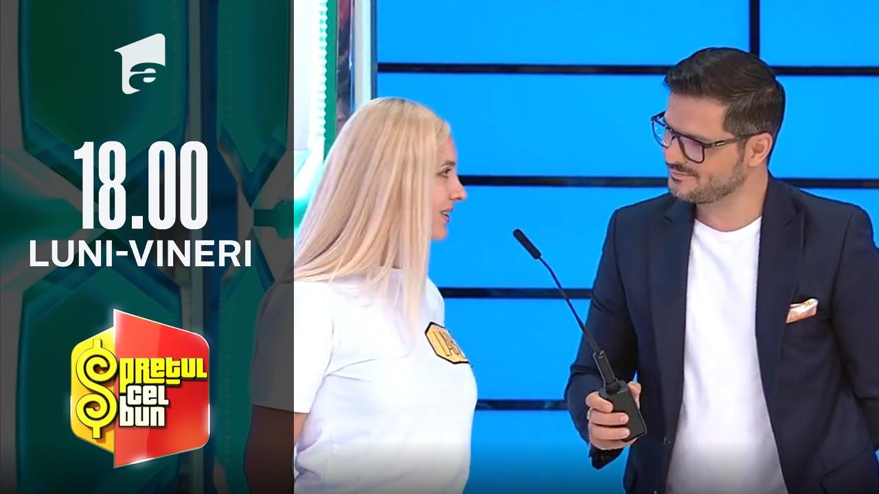 Preţul cel bun sezonul 1, 28 septembrie 2021. Liviu Vârciu a scăpat microfonul din mână când a auzit ce meserie are o concurentă