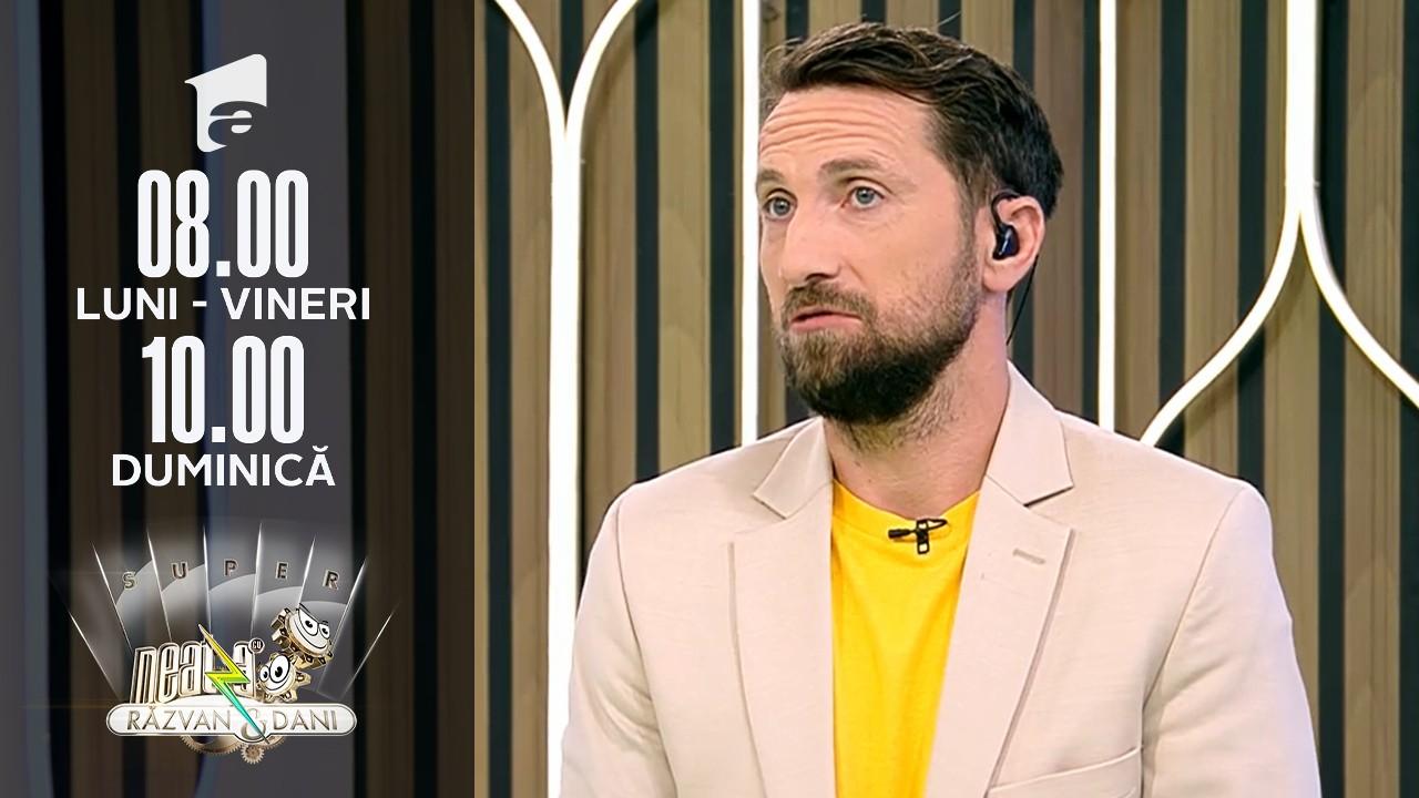 Super Neatza, 28 septembrie 2021. Dani Oțil vrea să știe în câte schimburi de scutece ajunge la mare