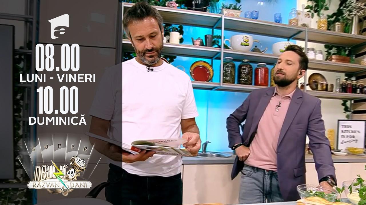 Super Neatza, 29 septembrie 2021. Rețeta lui chef Nicolai Tand - omletă de toamnă